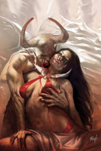 Image: Vengeance of Vampirella #8 (variant cover - Parrillo virgin) - Dynamite