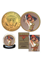 Image: Linsner Collectible Gold Coin B  - Dynamite