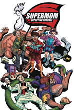 Image: Supermom Expecting Trouble Vol. 01 SC  - Action Lab Entertainment