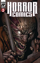Image: Horror Comics #3 (variant cover - Skin(Less) Cell) - Antarctic Press