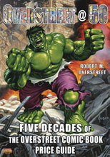 Image: Overstreet 50: 5 Decades of Overstreet Comic Book Price Guide HC  - Gemstone Publishing
