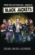 Image: Black Jackets GN  - Paper Movies