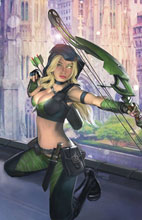 Image: Robyn Hood: Justice #1 (cover C - Burns) - Zenescope Entertainment Inc