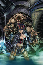 Image: Van Helsing vs. The League of Monsters #4 (cover B - Vitorino) - Zenescope Entertainment Inc
