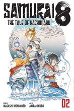 Image: Samurai 8: Tale of Hachimaru Vol. 02 GN  - Viz Media LLC