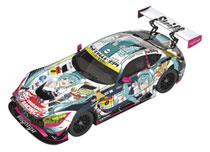 Image: Hatsune Miku GT Project Mini-Car AMG  (2018 Super GT version) (1/64 scale) - Good Smile Racing