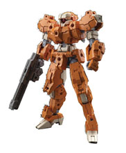 Image: 30 Minute Mission Model Kit: 24 Eexm-21 Rabiot  (Orange) - Bandai Hobby