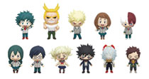 Image: My Hero Academia Series3 Blind Mystery Box Display: 3D Foam Bag Clip  (24 Pieces) - Monogram Products