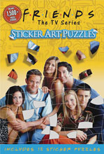 Image: Friends Sticker Art Puzzle Book  - Insight Editions
