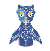 Image: Mister Rogers Neighborhood Enamel Pin: X the Owl  - Little Shop of Pins