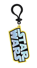Image: Star Wars Soft Touch PVC Bag Clip: Logo  - Monogram Products
