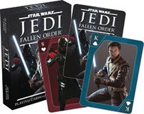 Image: Star Wars Playing Cards: Jedi the Fallen Order  - Nmr Distribution America
