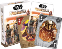 Image: Star Wars Playing Cards: The Mandalorian  - Nmr Distribution America
