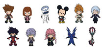 Image: Kingdom Hearts Series 4 Blind Mystery Box Display: 3D Foam Bag Clip  (24 Piece) - Monogram Products