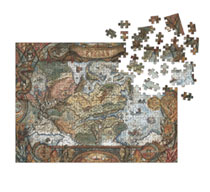 Image: Dragon Age Puzzle: World of Thedas Map  - Dark Horse Comics