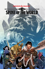 Image: Dungeons & Dragons: At the Spine of the World SC  - IDW Publishing
