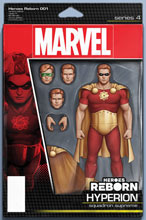 Image: Heroes Reborn #1 (variant Action Figure cover - Christopher) - Marvel Comics