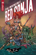 Image: Invincible Red Sonja #1 (cover A - Conner) - Dynamite
