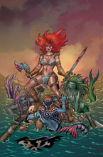 Image: Invincible Red Sonja #1 (variant cover - Conner virgin) - Dynamite