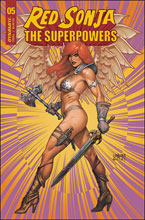 Image: Red Sonja: The Superpowers #5 (cover C - Linsner) - Dynamite