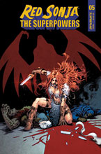 Image: Red Sonja: The Superpowers #5 (cover D - Lau) - Dynamite