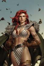 Image: Red Sonja: The Superpowers #5 (incentive 1:25 cover - Yoon virgin) - Dynamite