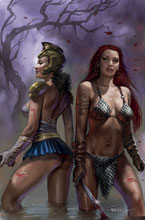 Image: Red Sonja: The Superpowers #5 (variant cover - Parrillo virgin) - Dynamite