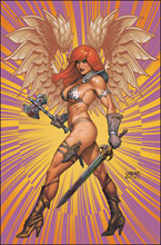 Image: Red Sonja: The Superpowers #5 (variant cover - Linsner virgin) - Dynamite