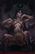 Image: Vengeance of Vampirella #18 (variant cover - Parrillo virgin) - Dynamite