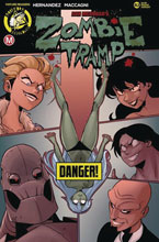 Image: Zombie Tramp #82 (cover B - MacCagni risque) - Action Lab - Danger Zone