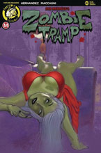 Image: Zombie Tramp #82 (cover C - Andrew Herman) - Action Lab - Danger Zone