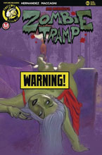 Image: Zombie Tramp #82 (cover D - Andrew Herman risque) - Action Lab - Danger Zone
