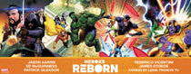 Image: Heroes Reborn #1-4  (DFE signed - McGuinness [Silver]) - Dynamic Forces