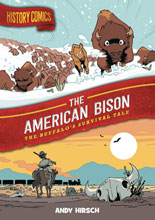 Image: History Comics: American Bison GN HC  - First Second (:01)