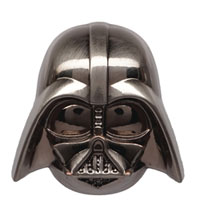 Image: Star Wars Pewter Lapel Pin: Darth Vader  - Monogram Products