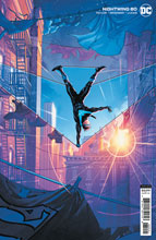 Image: Nightwing #80 (variant card stock cover - Jamal Campbell) - DC Comics
