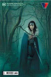 Image: Wonder Woman #772 (variant card stock cover - Joshua Middleton) - DC Comics