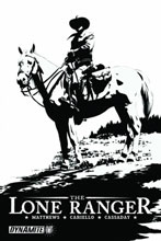 Image: Lone Ranger #17 (Cassaday Virgin Art 10-Copy incentive) - D. E./Dynamite Entertainment