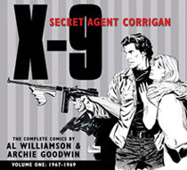 Image: X-9, Secret Agent Corrigan Vol. 01: 1967-1969 HC  - IDW Publishing