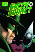 Image: Green Hornet #5 (25-copy Cassaday B&W incentive) (v25) - Dynamite