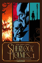 Image: Sherlock Holmes Vol. 01: The Trial of Sherlock Holmes SC  - D. E./Dynamite Entertainment