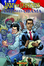 Image: Army of Darkness: Ash Saves Obama SC  - D. E./Dynamite Entertainment