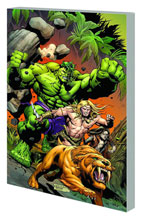 Image: Incredible Hulks: Planet Savage SC  - Marvel Comics