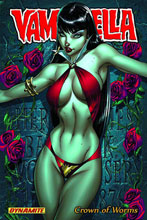 Image: Vampirella Vol. 01: Crown of Worms SC  - D. E./Dynamite Entertainment