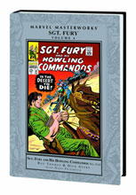 Image: Marvel Masterworks: Sgt Fury & His Howling Commandos Vol. 04 HC  - Marvel Comics