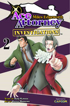 Image: Miles Edgeworth: Ace Attorney Vol. 02 GN  - Kodansha Comics