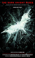 Image: Dark Knight Rises Official Movie Novelization PB  - Titan Books