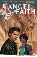 Image: Angel & Faith Vol. 04: Death & Consequences SC  - Dark Horse Comics