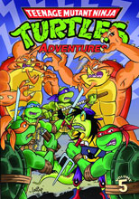 Image: Teenage Mutant Ninja Turtles Adventures Vol. 05 SC  - IDW Publishing