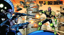 Image: Judge Dredd Classics #1 (subscription variant cover) - IDW Publishing